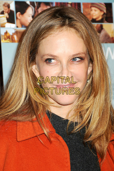 "ALLY WALKER .Attending ""Wonderful World"" Los Angeles Premiere held at the Director's Guild Theatre, West Hollywood, California, USA, 7th January 2010..portrait headshot black red orange .CAP/ADM/BP.©Byron Purvis/AdMedia/Capital Pictures."
