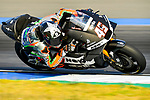 Aprilia Racing Team Gresini's rider Scott Redding of Great Britain  rides during the MotoGP Official Test at Chang International Circuit on 16 February 2018, in Buriram, Thailand. Photo by Kaikungwon Duanjumroon / Power Sport Images