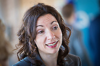 PQ Leadership candidate Martine Ouellet during the presentation of parti Quebecois candidates for the upcoming byelection Tuesday May 5, 2015.