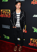 "CENTURY CITY, CA, USA - SEPTEMBER 27: Taylor Gray arrives at the Los Angeles Screening Of Disney XD's ""Star Wars Rebels: Spark Of Rebellion"" held at the AMC Century City 15 Theatre on September 27, 2014 in Century City, California, United States. (Photo by Celebrity Monitor)"
