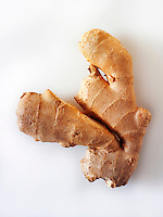 whole fresh root ginger