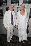 Thomas Meehan & wife Carolyn.attending the Roundabout Theatre Company's Opening Night After Party for 'Death Takes A Holiday'  in New York City.