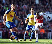 Alexandre Lacazette of Arsenal during Arsenal vs Southampton, Premier League Football at the Emirates Stadium on 24th February 2019