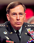 General David H. Petraeus, U.S. Army, testifies before the United States Senate Armed Services Committee hearing on his nomination to be commander of the International Security Assistance Force and commander of the United States Forces in Afghanistan in Washington, D.C. on Tuesday, June 29, 2010..Credit: Ron Sachs / CNP