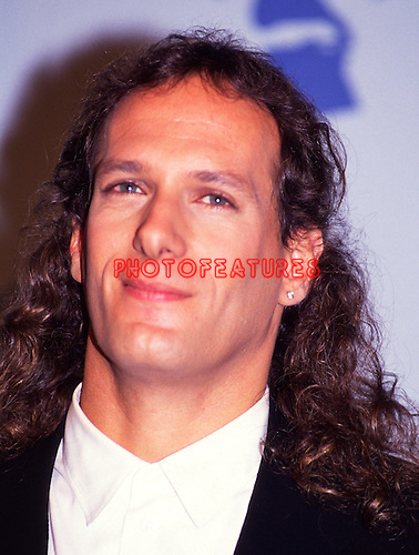 Michael Bolton 1990 Grammy Awards..© Chris Walter..