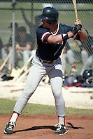 Boston Red Sox Greg Blosser during spring training circa 1990 at Chain of Lakes Park in Winter Haven, Florida.  (MJA/Four Seam Images)