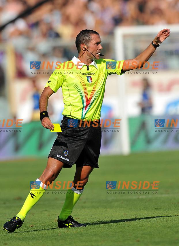 """Marco GUIDA.Firenze 11/9/2011 Stadio """"Artemio Franchi"""".Serie A 2011/2012.Football Calcio Fiorentina Vs Bologna.Foto Insidefoto Alessandro Sabattini."""