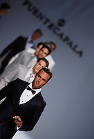 BARCELONA, ESPANHA, 11 DE MAIO DE 2012 - BARCELONA BRIDAL WEEK - FUENTECAPALA -<br /> Desfile da grife Fuentecapala no quarto dia do Barcelona Bridal Week, o maior evento de moda nupcial da Europa e um dos maiores do mundo, na Fira Barcelona Gran Via, em Barcelona (Espanha), nesta sexta-feira(10). (FOTO: WILLIAM VOLCOV / BRAZIL PHOTO PRESS).