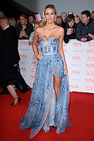 Olivia Attwood<br /> arriving for the National Television Awards 2018 at the O2 Arena, Greenwich, London<br /> <br /> <br /> ©Ash Knotek  D3371  23/01/2018