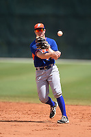 New York Mets Dale Burdick (71) during practice before a minor league spring training game against the St. Louis Cardinals on April 1, 2015 at the Roger Dean Complex in Jupiter, Florida.  (Mike Janes/Four Seam Images)