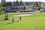 WERVERSHOOF - Clubhuis Nineteen met puttinggreen; . Golfbaan de Vlietlanden. COPYRIGHT KOEN SUYK