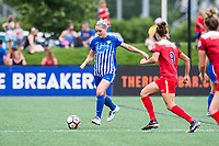 Boston, MA - Saturday July 01, 2017: Megan Oyster during a regular season National Women's Soccer League (NWSL) match between the Boston Breakers and the Washington Spirit at Jordan Field.