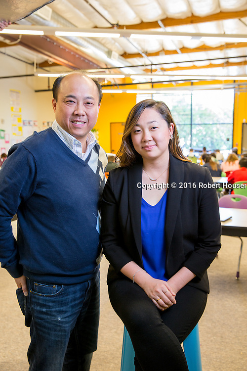 Portrait of Bryant Wong - CTO - Summit Schools; and Lizzie Choi - Director - Summit Basecamp