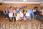 Keith Fleming, Scartaglen, pictured with his family and friends as he celebrated his 21st birthday Darby O'Gills hotel, Killarney on Friday night. ..........................................................................................