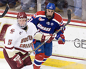 Philip Samuelsson (BC - 5), Matt Ferreira (Lowell - 17) - The Boston College Eagles defeated the visiting University of Massachusetts-Lowell River Hawks 5-3 (EN) on Saturday, January 22, 2011, at Conte Forum in Chestnut Hill, Massachusetts.