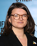 Leslye Headland attends the Broadway Opening Night performance for 'Significant Other' at the Booth Theatre on March 2, 2017 in New York City.