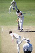 November 5th 2017, WACA Ground, Perth Australia; International cricket tour, Western Australia versus England, day 2; Western Warriors Tim David faces a delivery from England player Stuart Broad
