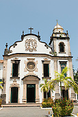 Olinda, Pernambuco State, Brazil. Sao Bento Monastery.