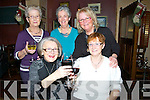 SUPPORTING: Supporting their local restaurant McMunns,Ballybunion on Women Christmas L-r: Mai Langan and Betty Rothwell. Back l-r: Colette Walsh, Violet Hanley and Christina Hellard (Ballybunion).