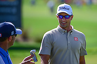 Adam Scott (AUS) after sinking his putt on 9 during round 2 of the Honda Classic, PGA National, Palm Beach Gardens, West Palm Beach, Florida, USA. 2/24/2017.<br /> Picture: Golffile | Ken Murray<br /> <br /> <br /> All photo usage must carry mandatory copyright credit (&copy; Golffile | Ken Murray)