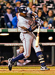 9 September 2006: Alfonso Soriano, left fielder for the Washington Nationals, in action against the Colorado Rockies. The Rockies defeated the Nationals 9-5 at Coors Field in Denver, Colorado.&#xA;&#xA;Mandatory Photo Credit: Ed Wolfstein.<br />