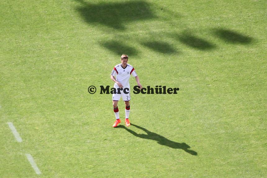 Matthias Ginter - Testspiel der Deutschen Nationalmannschaft gegen die U20 im Rahmen der WM-Vorbereitung in St. Martin