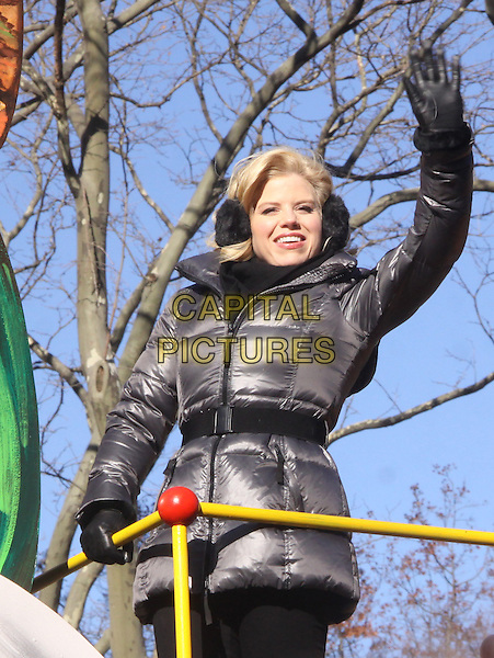 NEW YORK, NY - NOVEMBER 28: Megan Hilty attends the 87th annual Macy's Thanksgiving Day parade on November 28, 2013 in New York City, NY., USA. <br /> CAP/MPI/RW<br /> &copy;RW/ MediaPunch/Capital Pictures