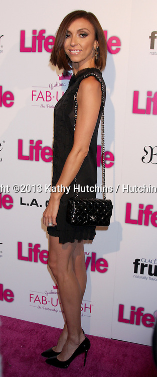 LOS ANGELES - OCT 9:  Giuliana Rancic at the Hollywood In Bright Pink at Bagatelle LA on October 9, 2013 in West Hollywood, CA