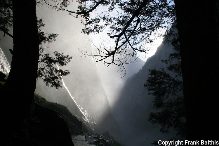 Mist Trail, Vernal Falls