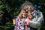 Wayne Coyne of the Flaming Lips at the 2014 Riot Fest in Chicago, Illinois.