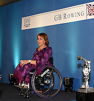Lords, London, Guest speaker Dame Tanni Grey-Thompson at the GB Rowing Team Dinner, 03.02.2007. [Photo, Peter Spurrier/Intersport-images].  [Mandatory Credit, Peter Spurier/ Intersport Images].
