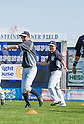 (L-R) Ichiro Suzuki, Masahiro Tanaka (Yankees),<br /> FEBRUARY 23, 2014 - MLB :<br /> New York Yankees spring training camp at George M. Steinbrenner Field in Tampa, Florida, United States. (Photo by Thomas Anderson/AFLO) (JAPANESE NEWSPAPER OUT)
