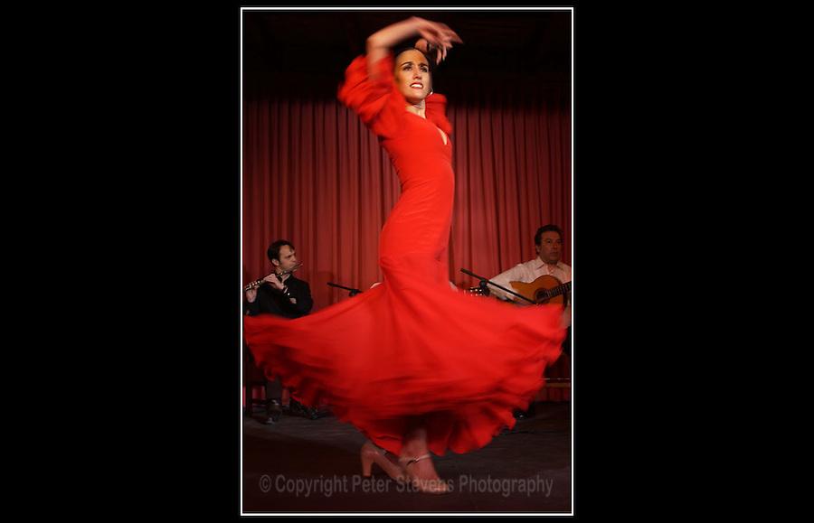 Flamenco Dancer - Alcalá de Henares, Madrid, Spain - Craft Food International - 13th March 2002