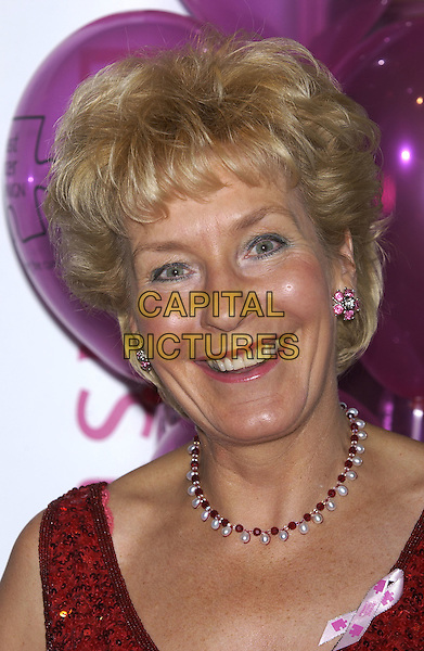 Christine Hamilton.10th anniversary Pink Anniversay Ball.Dorchester Hotel.London 09 October 2004.Ref: PL.portrait headhot pearl necklace.www.capitalpictures.com.sales@capitalpictures.com.©Capital Pictures.