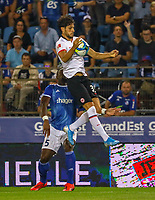 Goncalo Paciencia (Eintracht Frankfurt) - 22.08.2019: Racing Straßburg vs. Eintracht Frankfurt, UEFA Europa League, Qualifikation, Commerzbank Arena<br /> DISCLAIMER: DFL regulations prohibit any use of photographs as image sequences and/or quasi-video.