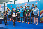 Stoke City are the Plate Final Winners of the Main tournament of the HKFC Citi Soccer Sevens on 22 May 2016 in the Hong Kong Footbal Club, Hong Kong, China. Photo by Li Man Yuen / Power Sport Images