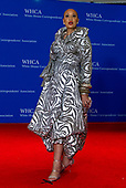 Singer Santita Jackson arrives for the 2018 White House Correspondents Association Annual Dinner at the Washington Hilton Hotel on Saturday, April 28, 2018.<br /> Credit: Ron Sachs / CNP<br /> <br /> (RESTRICTION: NO New York or New Jersey Newspapers or newspapers within a 75 mile radius of New York City)