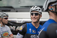 a relaxed Marcel Kittel (DEU/Etixx-QuickStep) at the start<br /> <br /> 101st Kampioenschap van Vlaanderen 2016 (UCI 1.1)<br /> Koolskamp &rsaquo; Koolskamp (192.4km)