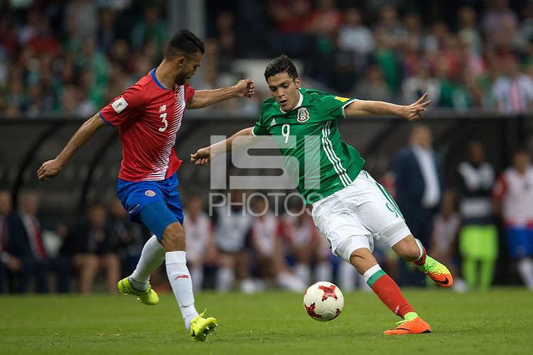 Mexico City, DF - March 24, 2017: Mexico defeated Costa Rica 2-0 in a 2018 World Cup Qualifying hexagonal match at Estadio Azteca.