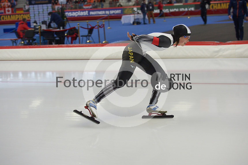 SPEEDSKATING: INZELL: Max Aicher Arena, 09-02-2019, ISU World Single Distances Speed Skating Championships, 5000m Ladies, Lemi Williamson (JPN), ©photo Martin de Jong