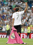 Al Sadd's Raul Gonzalez Blanco during Santiago Bernabeu Trophy.Tribute Match to Raul Gonzalez Blanco.August 22,2013. (ALTERPHOTOS/Acero)