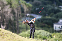 Caitlin Maurice. Jennian Homes Charles Tour Autex Muriwai Open, Muriwai Links Golf Course, Muriwai, Auckland, New Zealand,Thursday 12 April 2018. Photo: Simon Watts/www.bwmedia.co.nz