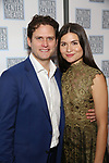 Steven Pasquale and Phillipa Soo attends the Opening Night After Party for the Lincoln Center Theater Production of 'Junk' on November 2, 2017 at Tavern On The Green in New York City.
