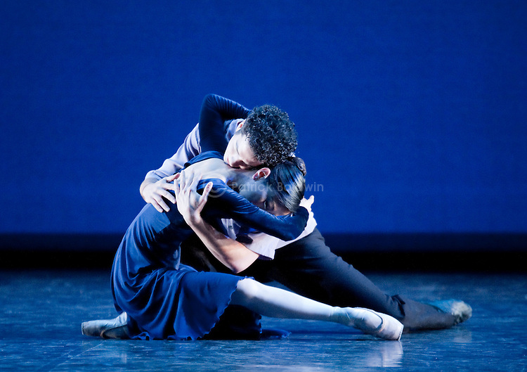 "English National Ballet. ""Duet"". Choregrapher: Wayne Eagling."