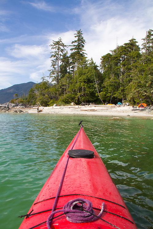 Vancouver Island, Stud Islets, Barkley Sound, Deer Group, British Columbia, Canada, sunset, sea kayak camping, wilderness coast,