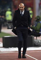 Football, Serie A: AS Roma - InterMilan, Olympic stadium, Rome, December 02, 2018. <br /> Inter's coach Luciano Spalletti during the Italian Serie A football match between Roma and Inter at Rome's Olympic stadium, on December 02, 2018.<br /> UPDATE IMAGES PRESS/Isabella Bonotto