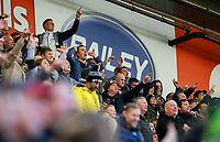 Preston North End fans watch on<br /> <br /> Photographer Alex Dodd/CameraSport<br /> <br /> The EFL Sky Bet Championship - Preston North End v Blackburn Rovers - Saturday 26th October 2019 - Deepdale Stadium - Preston<br /> <br /> World Copyright © 2019 CameraSport. All rights reserved. 43 Linden Ave. Countesthorpe. Leicester. England. LE8 5PG - Tel: +44 (0) 116 277 4147 - admin@camerasport.com - www.camerasport.com