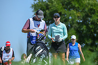 Lindy Duncan (USA) looks over her tee shot on 3 during round 2 of  the Volunteers of America LPGA Texas Classic, at the Old American Golf Club in The Colony, Texas, USA. 5/6/2018.<br /> Picture: Golffile | Ken Murray<br /> <br /> <br /> All photo usage must carry mandatory copyright credit (&copy; Golffile | Ken Murray)