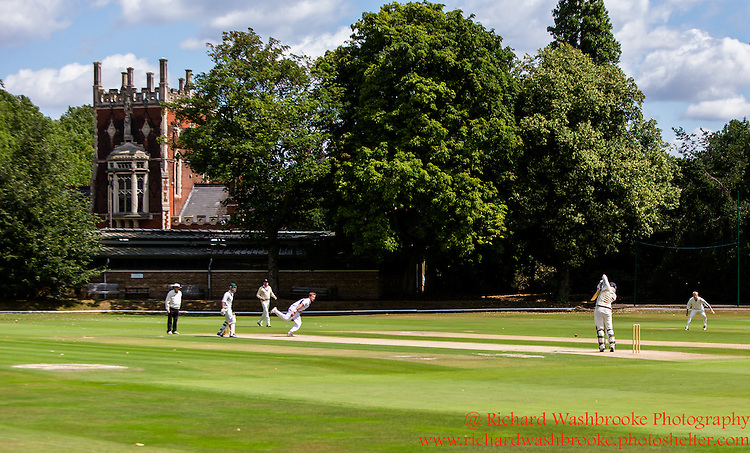 Red Photographic - The Hurlingham Cricket Club  25th July 2015<br /> <br /> Photo:  - Richard Washbrooke Photography - Red Photographic