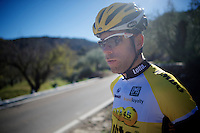 Bram Tankink (NLD/LottoJumbo)<br /> <br /> Team Lotto Jumbo winter training camp<br /> Moj&aacute;car, Spain, January 2015